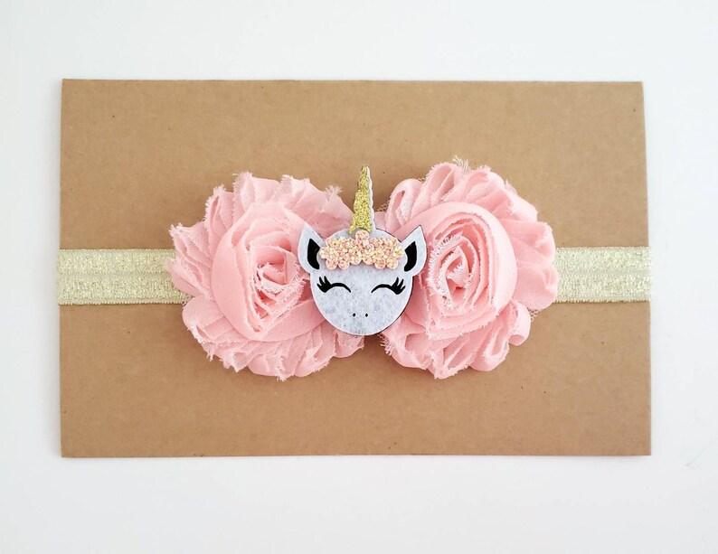 Peach Headband Peach and Gold Unicorn 1st Birthday Headband Unicorn Headband Unicorn Cake Smash Gold 1st Birthday Hair Bows