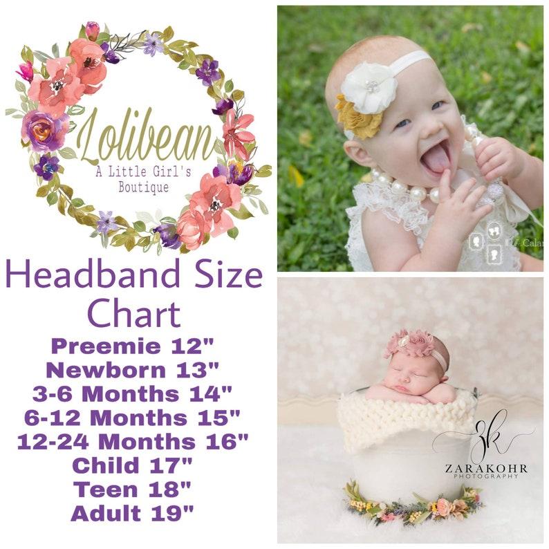 Infant Headband Baby Girl Headband Newborn Headband Preemie Headband Lilac Baby Headband Lilac Floral Headband Floral Headband