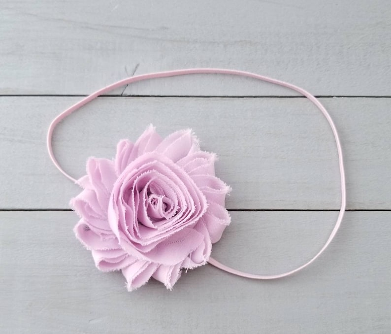 Dusty Pink Baby Headband Dusty Pink Headband Preemie Headband Newborn Headband Pale Mauve Headband Light Mauve Headband Pink Headband