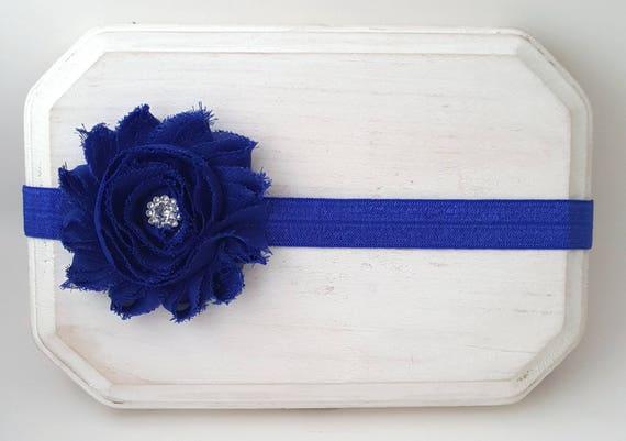 Royal Blue Headband Blue Baby Headband Royal Headband  d78912235bf