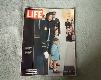 Life Magazine December 6 1963   (President Kennedy's Funeral)