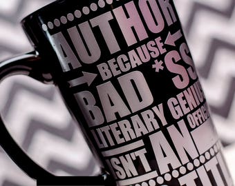 Author Coffee Cup