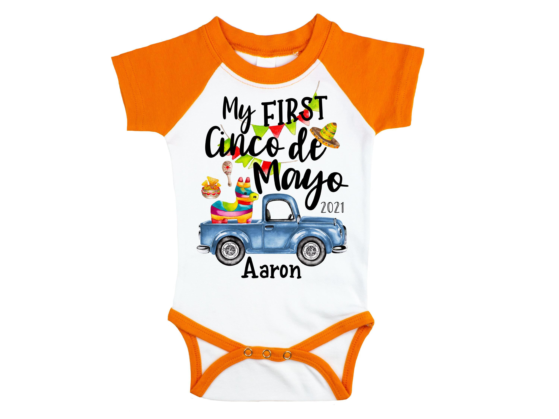 Cinco de Mayo Short Sleeve Baby Bodysuit T-Shirt