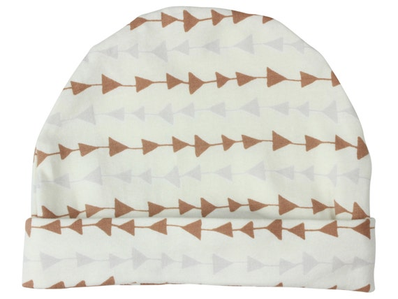 Tan Triangle Boy Baby Beanie Hat Unisex Tan Triangle  Baby Newborn Beanie Toddler Beanie Slouch Beanie Baby Gift Baby Leggings