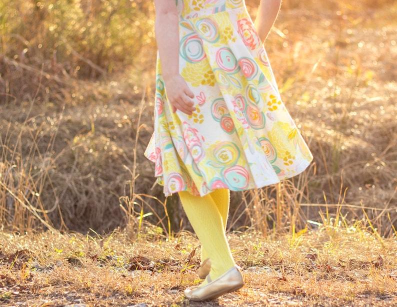 Banana Yellow Knee High Socks Hand Dyed Yellow Toddler Knee High Socks Baby Children/'s Girl/'s Socks Spring Uniform Dyed Pink Spring Sock