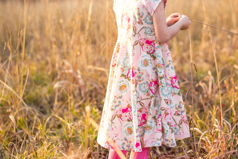 01ccd4fd6 Easter Dress Spring Dress Twirly Easter Dress Toddler Dress Girl ...