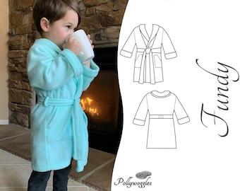 Robe Pattern - Fundy - PDF - 1-12Y