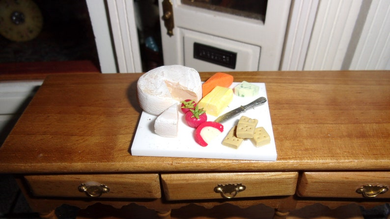 Large Cheeseboard for 1:12th Dolls House or Shop image 0