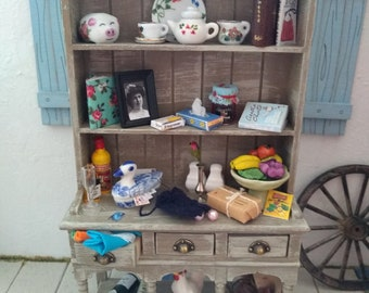 Country Dresser. 1:12th Dolls House