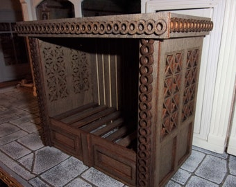 Cupboard Bed for 1:12th Dolls House