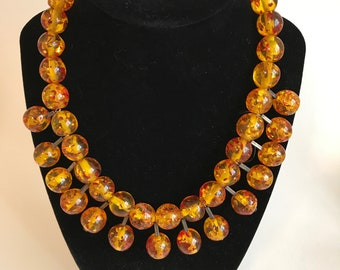 Radiant Baltic Amber Beaded Necklace