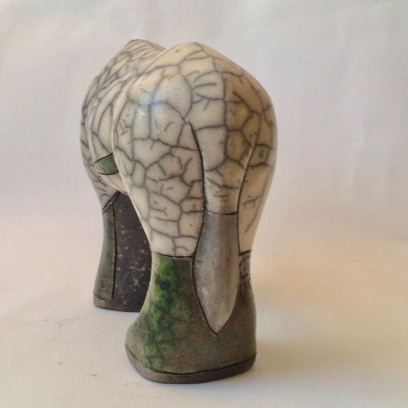 Beautiful Hand Made South African Pottery of a Gemsbok