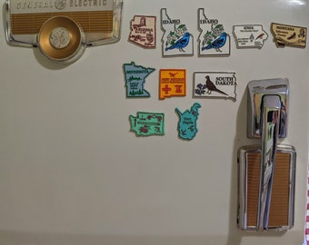 Vintage State Souvenir Magnets - Your Choice!!