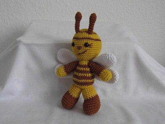 1 Kuscheltier gehäkelt Biene gehäkelt Amigurumi Biene | Etsy