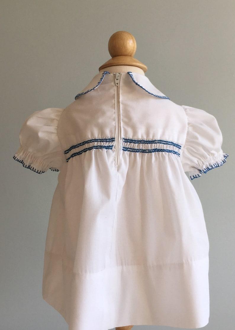 Vintage Homemade Hand Smocked Dress