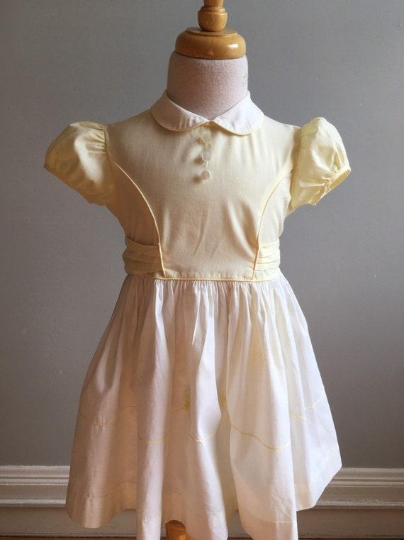 "Girl's 50's Vintage Dress by ""Cinderella"""