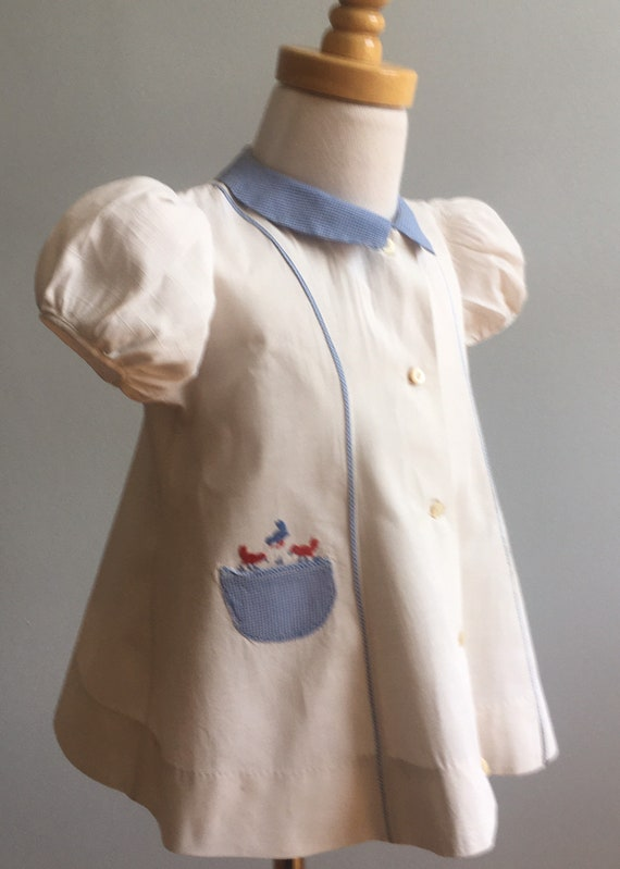 1930's Girl's Dress with Princess Seaming