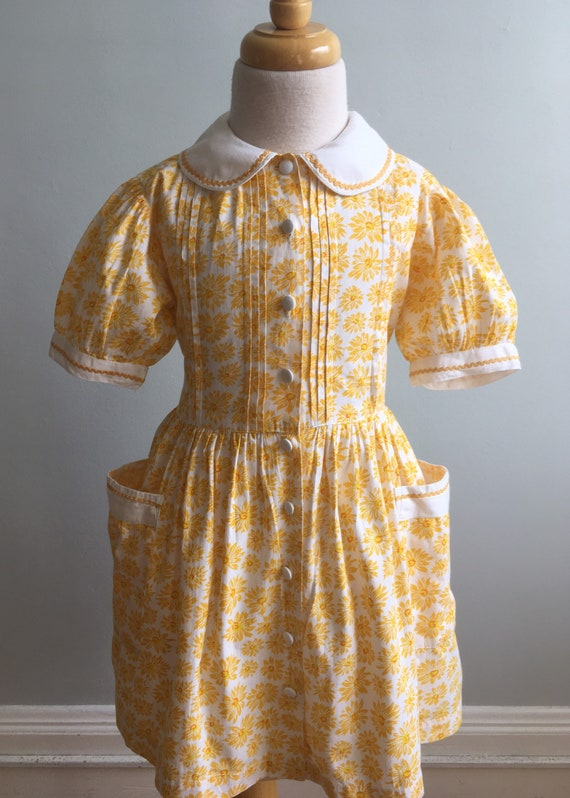 Vintage Girl's French Dress