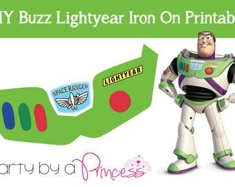 Buzz Lightyear DIY Iron On T-Shirt Printable