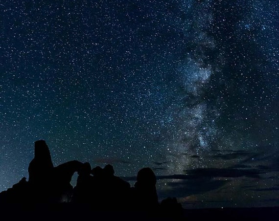 Milky Way 2, Arches Nat'l Park, Utah  (Photography)