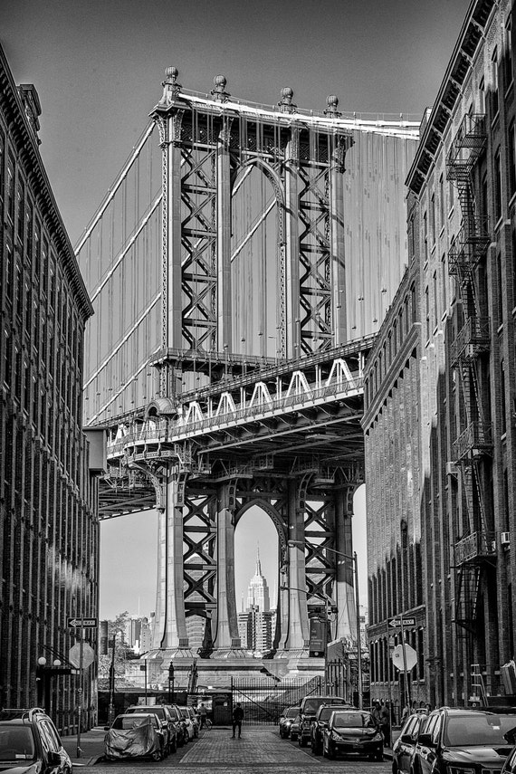 Manhattan Bridge -- Brooklyn, New York City