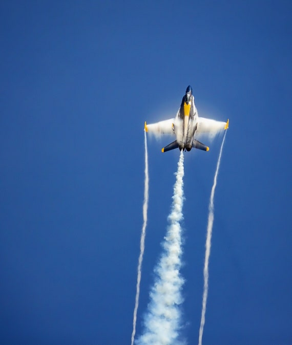 Blue Angel Vapor Trail 1 (Photography)