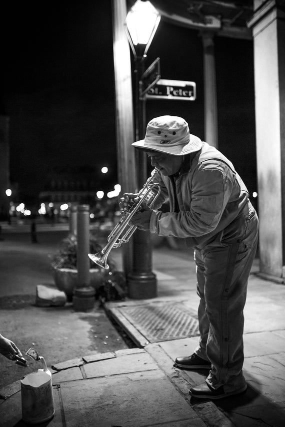 Solo Performance, New Orleans (Photography)