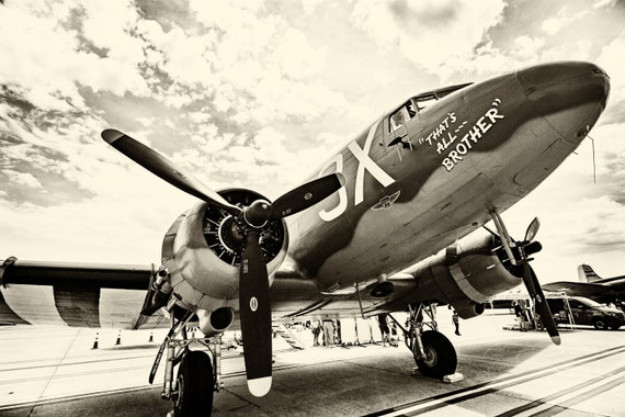 WW2 Bomber (Photography)