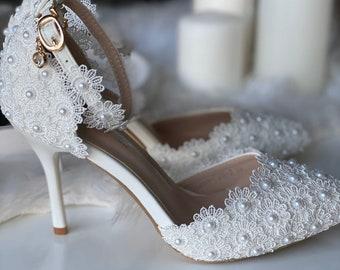 Elegant Bridal Shoes Etsy