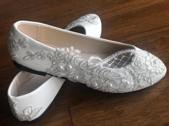 Wedding shoes bridal flats weddings
