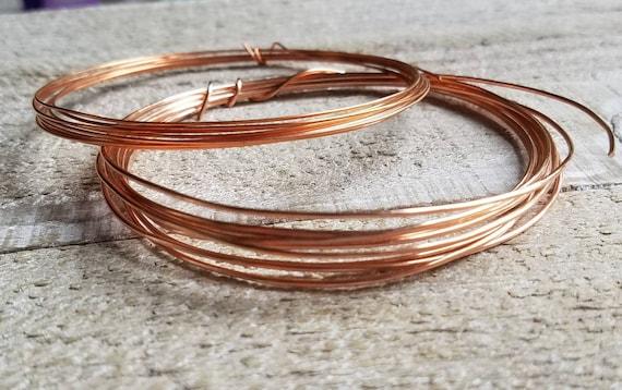 10Ga Copper Wire Dead Soft Pure Round Copper Wire 30/' Coil 10Gauge Jewelry Craft