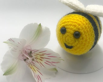 Crochet Amigurumi Bumble Bee, Gift, Toy