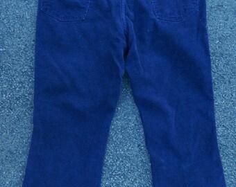 70s Wrangler Husky Boys corduroy cords pants