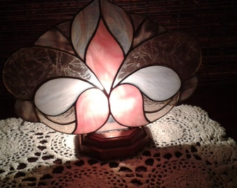 Victorian style fan lamp, night light