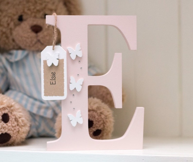 Personalised Wooden Freestanding letter