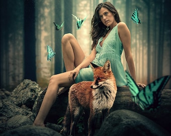 Lady and the Fox