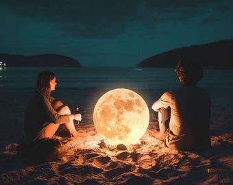 Moon on Fire