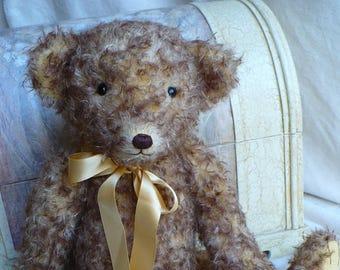 Artist made mohair bear, a 22 inch bear