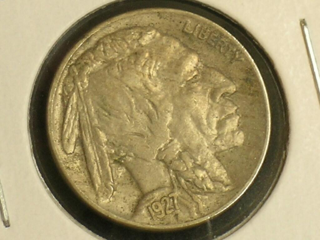 VF+ VERY FINE+ Condition,Sharp FULL Date /& FULL HORN Buffalo Nickel 1937-D,