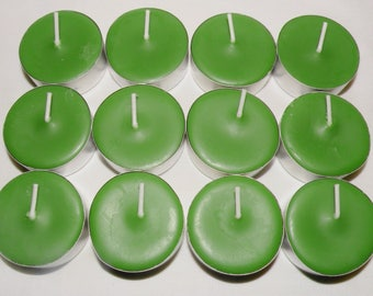 Citrus & Sage Scented Soy Tea Lights You Pick Package