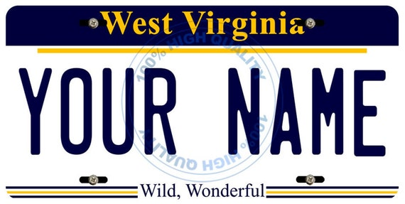 BRGiftShop Personalize Your Own Hockey Team Washington Car Vehicle 6x12 License Plate Auto Tag