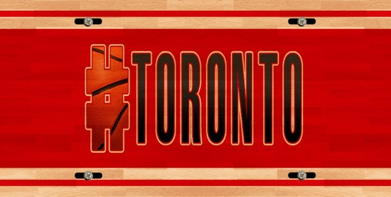 BRGiftShop Personalize Your Own Hockey Team Toronto Car Vehicle 6x12 License Plate Auto Tag