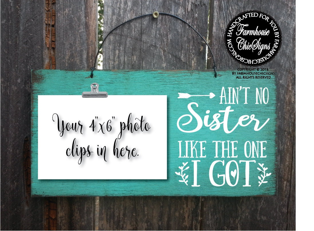 gift for sister Christmas gift for sisters ain\'t no sister like the ...