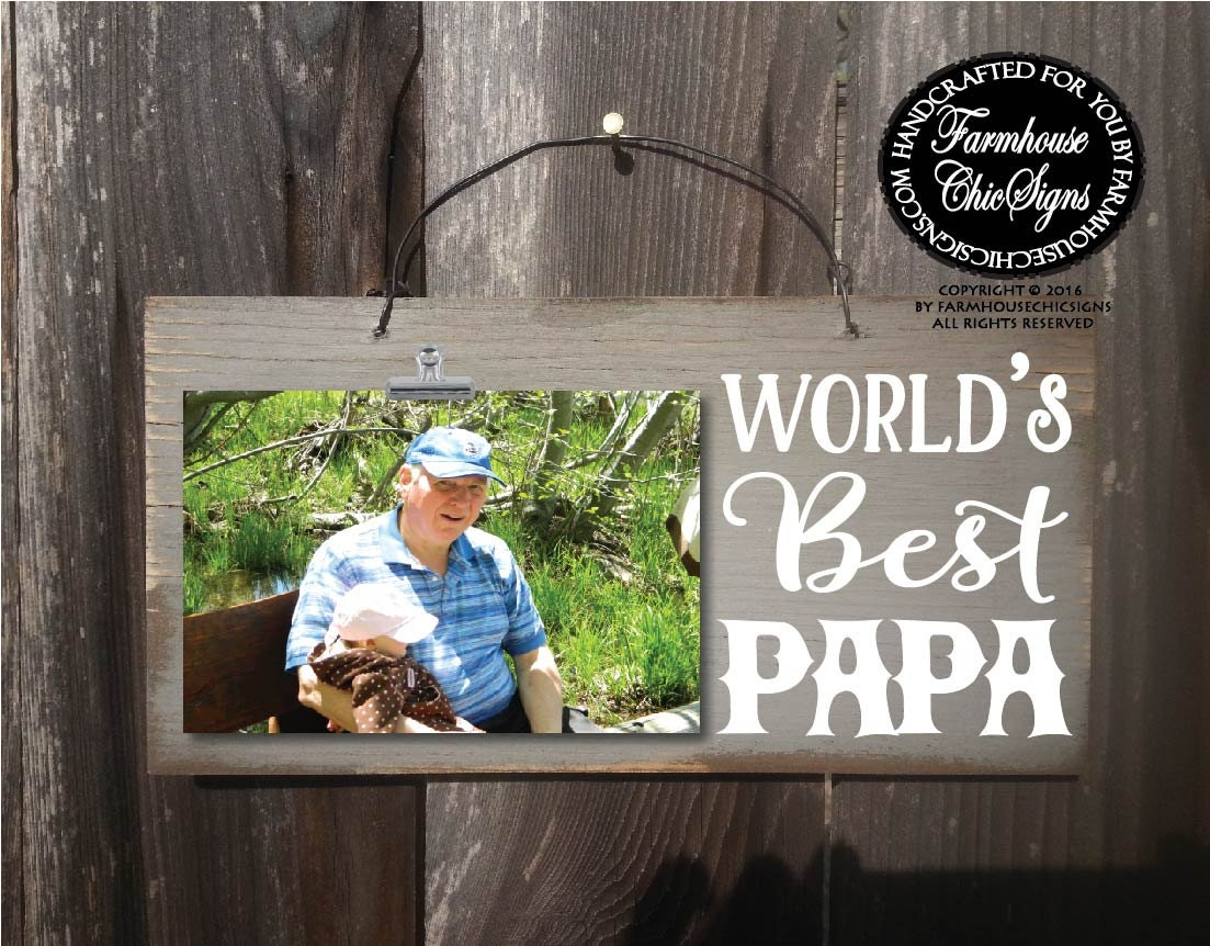 Papa Gift For Papa Papa Gift World S Best Papa Papa