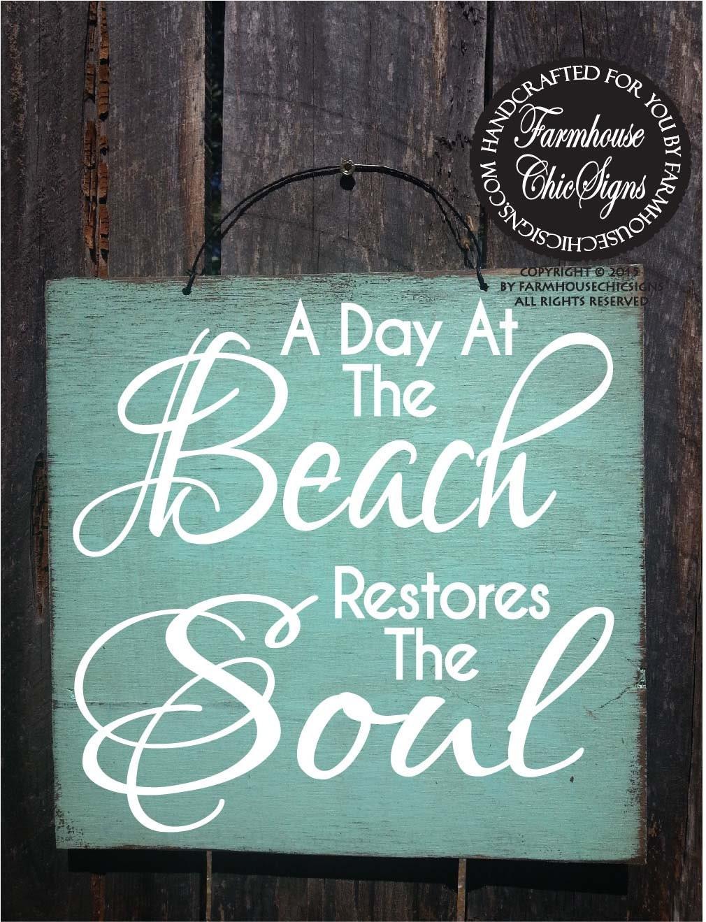 Beach Sign Beach House Decor Beach Decor Beach House