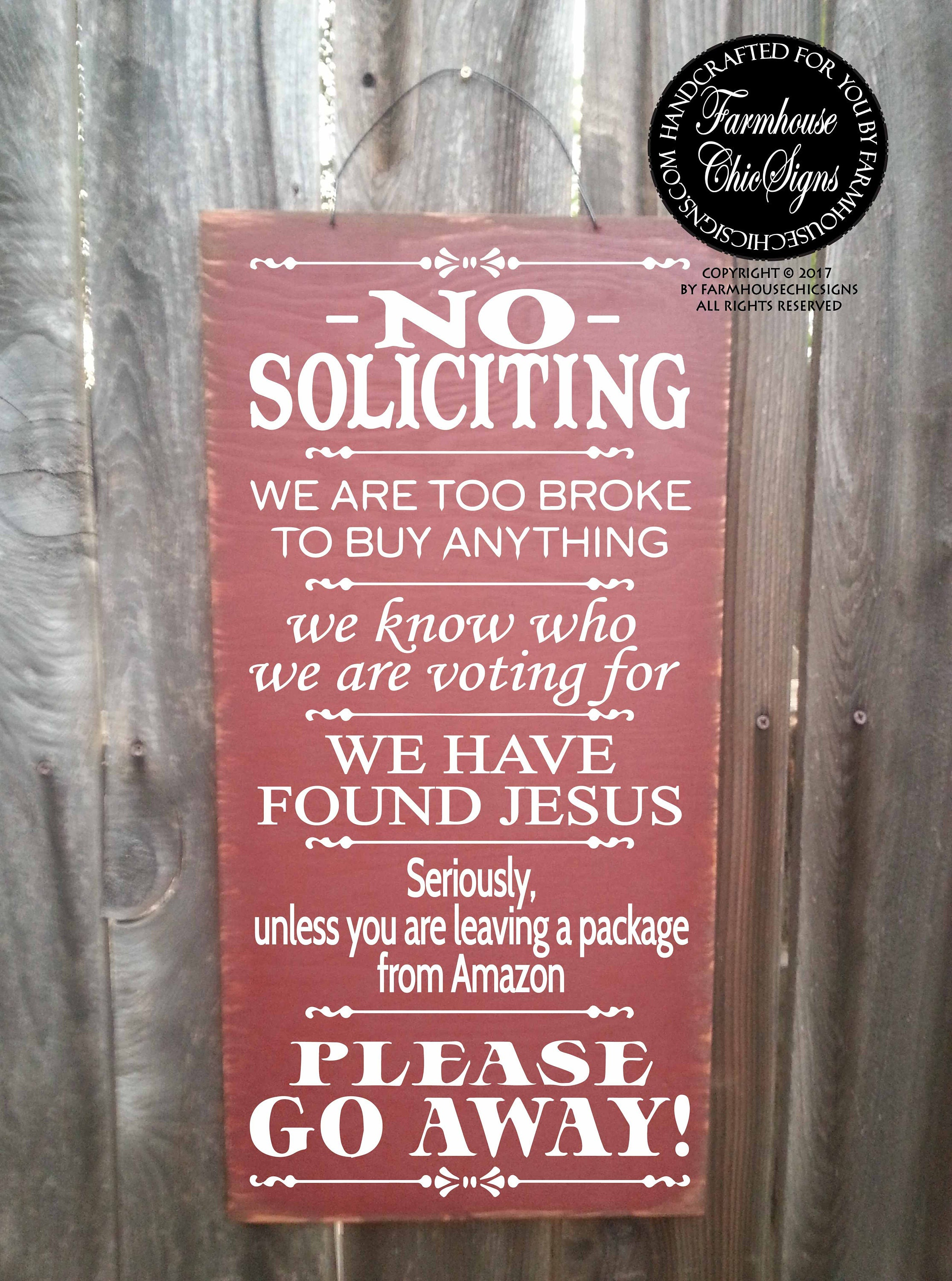 Picture of: No Solicitation Sign No Soliciting Door Sign No Soliciting Signs Funny No Solicitors No Solicitation Funny Sign 12