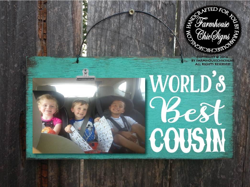 Geschenk für Cousin Cousine Cousin weltweit beste Cousine | Etsy