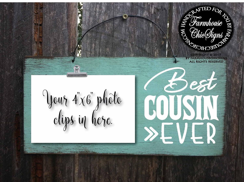 Cousin Geschenk für Cousin Cousin Zeichen Cousine Cousin | Etsy