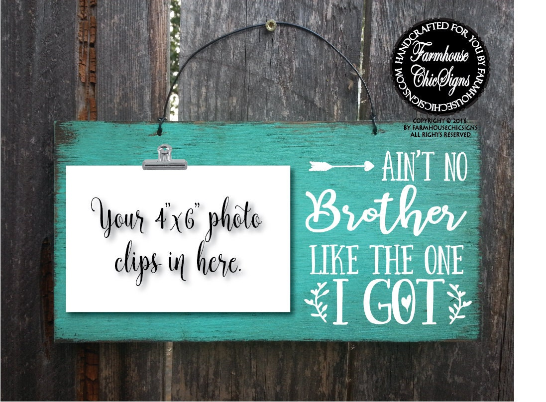 gift for brother Christmas gift for brothers ain\'t no brother like ...