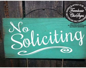 no solicitation sign, No Soliciting Sign, small no soliciting, no solicitors, front porch sign, porch rules, front door decor, 160/237